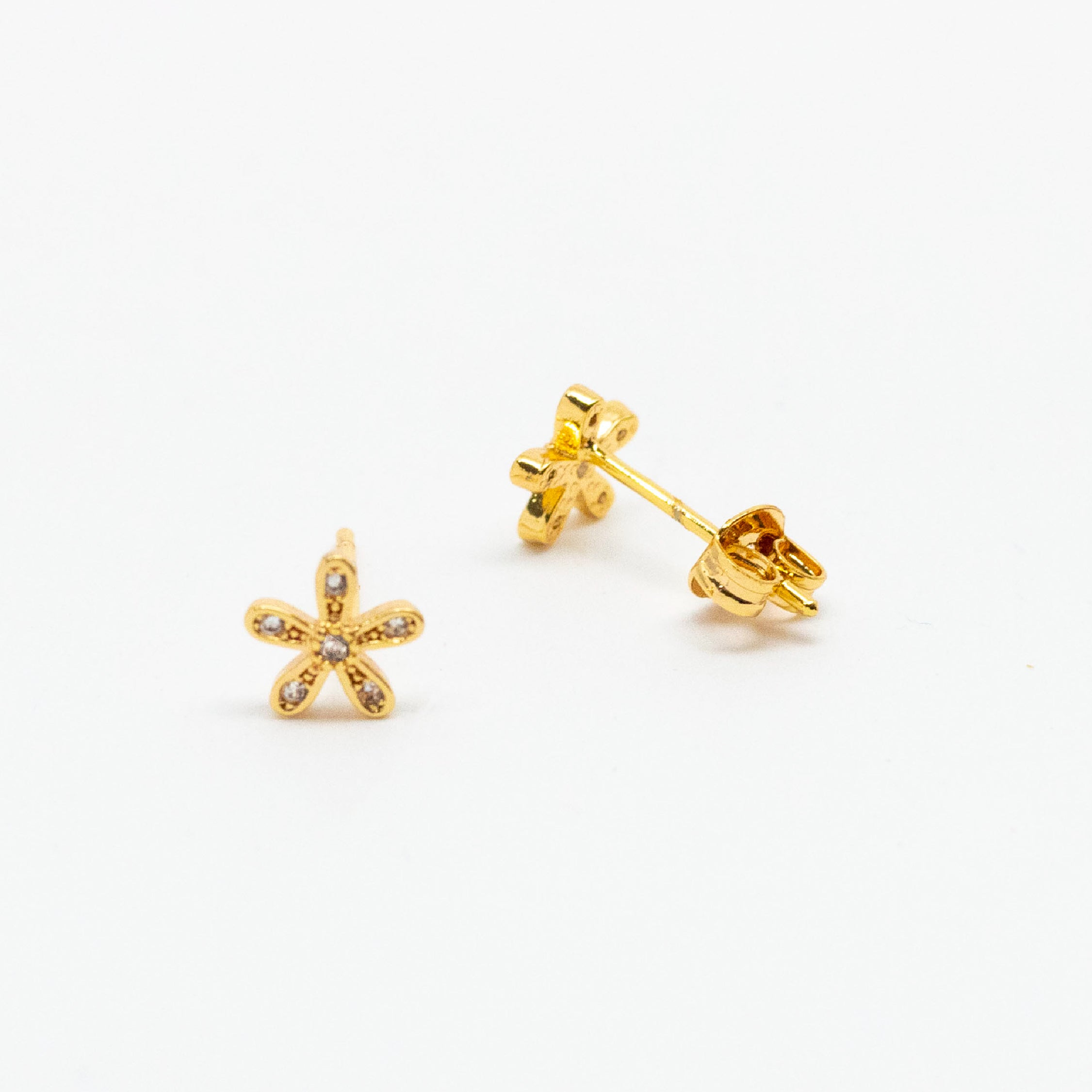Exquisite Flower Studs