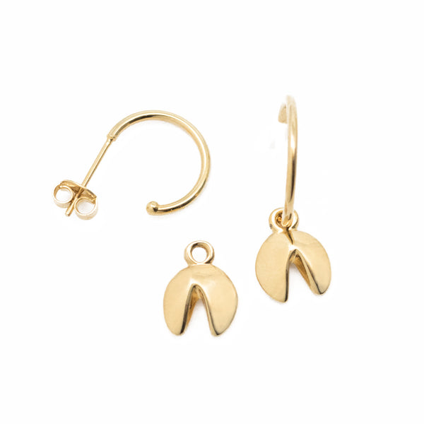 Fortune Cookie Earrings