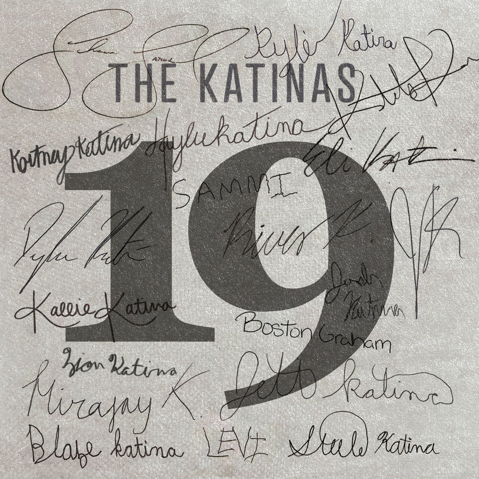 "New album ""19"" by The Katinas"