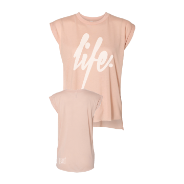 "Ladies ""Life"" flowy tee 