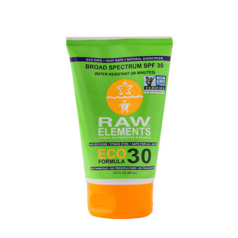 Raw Elements SPF 30 Broad Spectrum Sunscreen