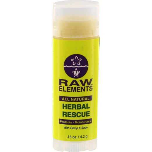 Raw Elements SPF 30 Lip Balm | Hemp and Sage