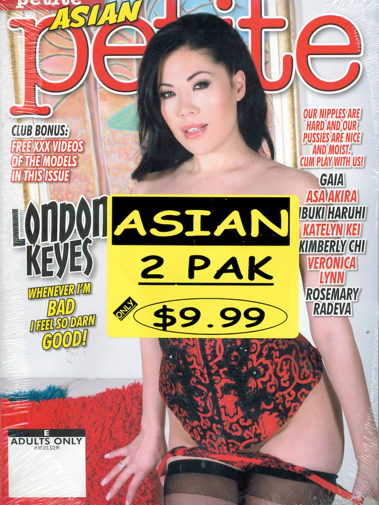 asian adult magazine 2 pack