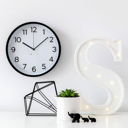 Chevron Clock