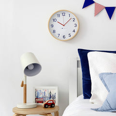 Navy Wall Clock