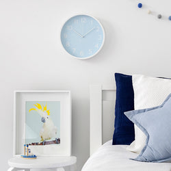 Pale Blue Clock