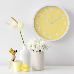 Yellow Clock