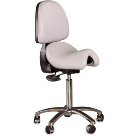 The Bambach – The Original Ergonomic Saddle Seat with Backrest