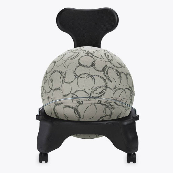 Ergonomic Balance Ball Chair Kit | sithealthier.com