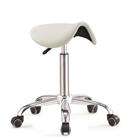Gas Lift Ergonomic Saddle Stool or Chair for Better Posture