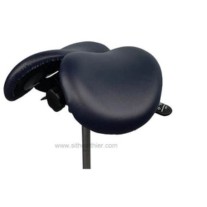 USA Patent Twin Adjustable Ergonomic Saddle Stool with Tilt-Able Seat | Sit Healthier