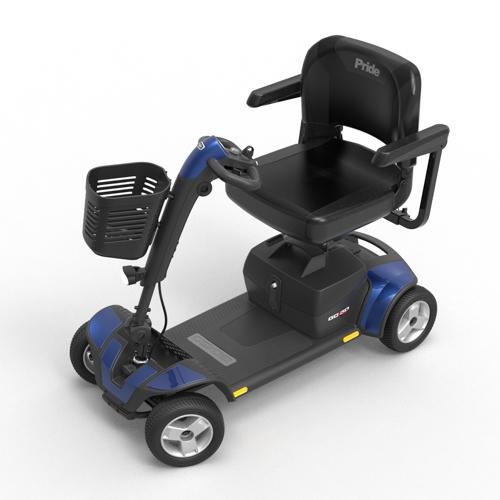 Pride Mobility Go-Go Sports 4-Wheel Scooter 4.7mph Speeds | SitHealthier