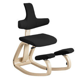 Varier Thatsit Balans Kneeling Chair with Back for Strong Posture |  SitHealthier