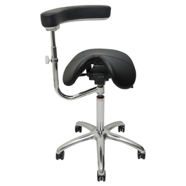 AllRound-Classic Ergonomic Saddle Chair by Salli | SitHealthier.com
