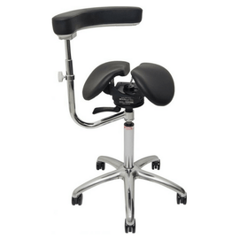 AllRound-Twin Saddle Chair for Dental and Medical | sithealhier.com