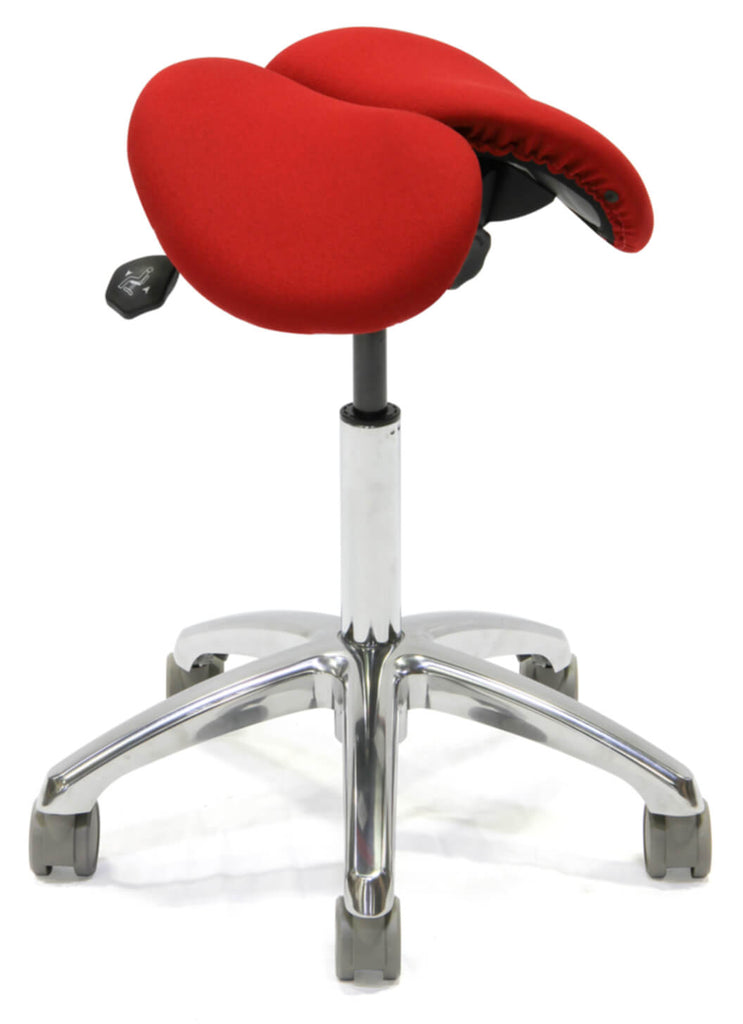 Split Seat Ergonomic Saddle Chair For Any Professional