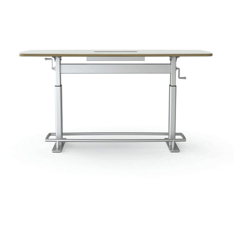 Focal Upright Confluence Ergonomic Height-Adjustable Conference Table; FCT-78-A-S-CC
