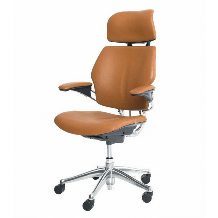 Self Adjusting Recline Headrest Chair With Armrests