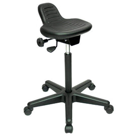 Werk AX Sit Stand Ergonomic Stool by Jobri; BP1470BK