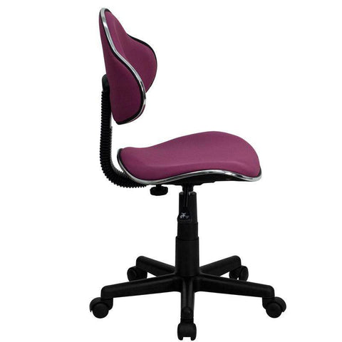 Ergonomic Pneumatic Seat Height Adjustment Swivel Task Chair | SitHealthier