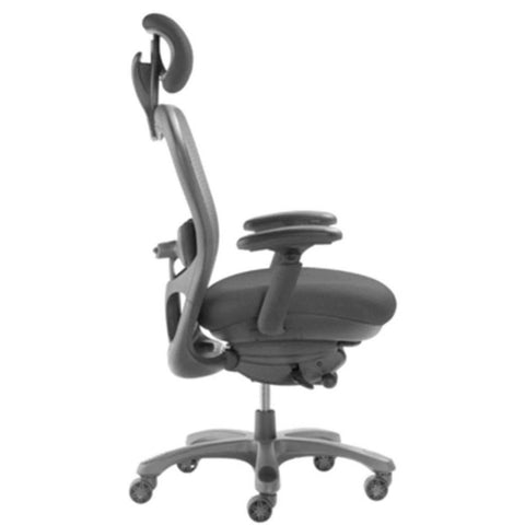 CXO Mid Back Executive Ergonomic Chair with Headrest; 6200D | Sithealthier.com
