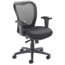 LXO Mid Back Ergonomic Task Chair; Black; 6000 | Sithealthier.com