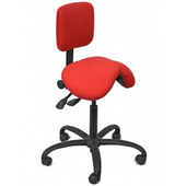 Professional Premium Quality Saddle Chair with Low Backrest