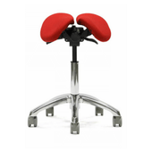 Split Seat Ergonomic Saddle Chair for Any Professional | SitHealthier