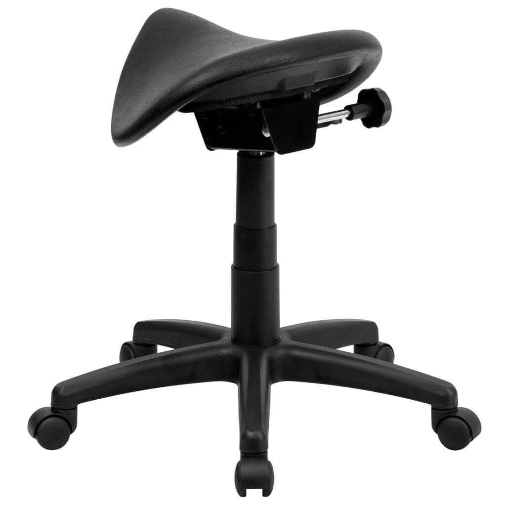 Backless Ergonomic Saddle Stool For Office And Medical