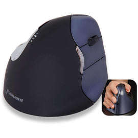 Evoluent Vertical Ergonomic Mouse 4 Right Wireless; VM4RW