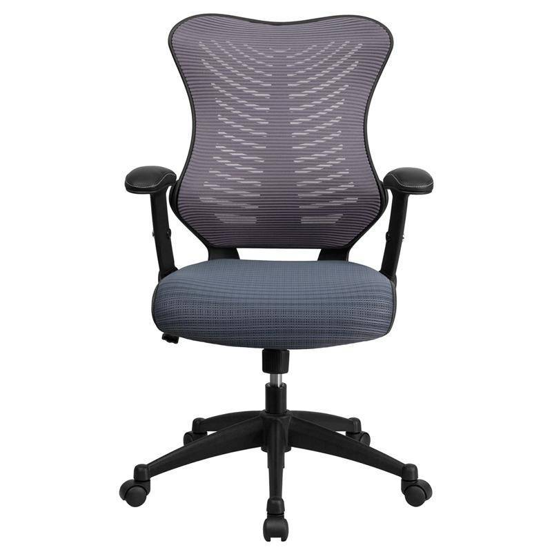 Designer High Back Gray Mesh Executive Swivel Chair | SitHealthier