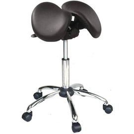 Twin Adjustable Saddle Chair or Stool for Medical | SitHealthier.com