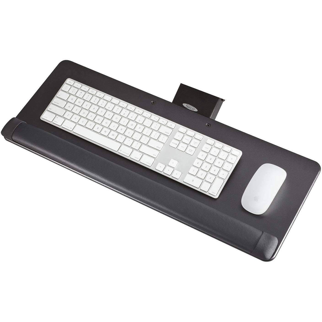 Knob-Adjusted Keyboard Tray by Safco; 2133BL