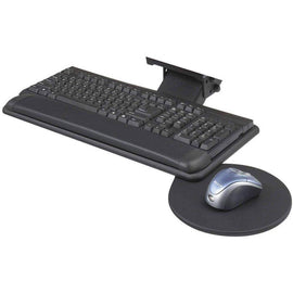 Adjustable Keyboard Platform With Swivel Mouse Tray by Safco; 2135BL