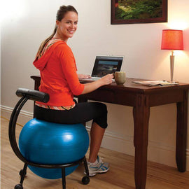 Custom Fit Balance Ball® Chair | sithealthier.com