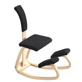 Varier Active Sitting Balans Kneeling Chair with Back | SitHealthier