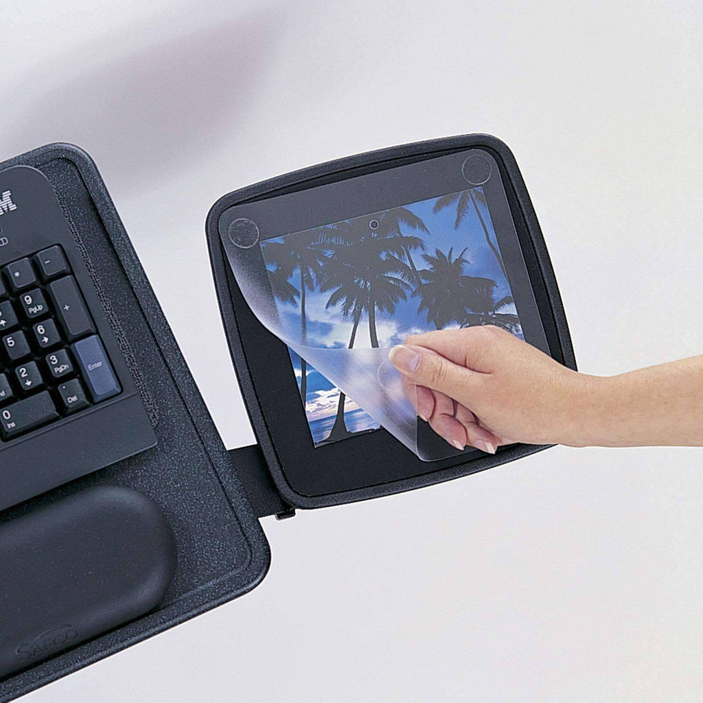 Ergo Comfort Low Profile Keyboard Tray By Safco 2137