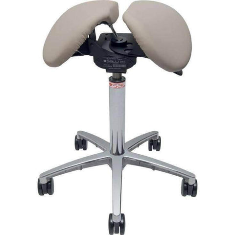 Salli MultiAdjuster Split Seated Saddle Chair or Stool | SitHealthier