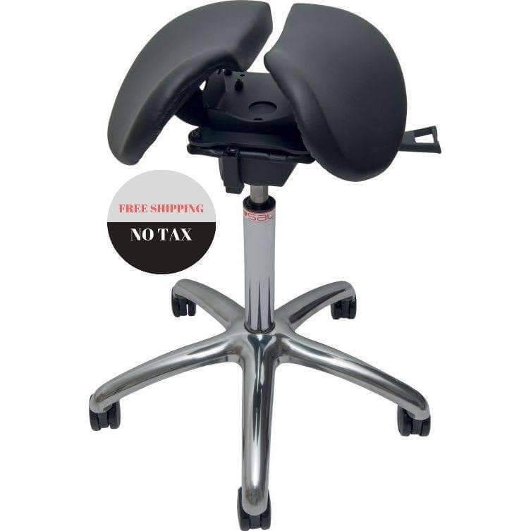 Salli Strong Ergonomic Saddle Chair Or Stool