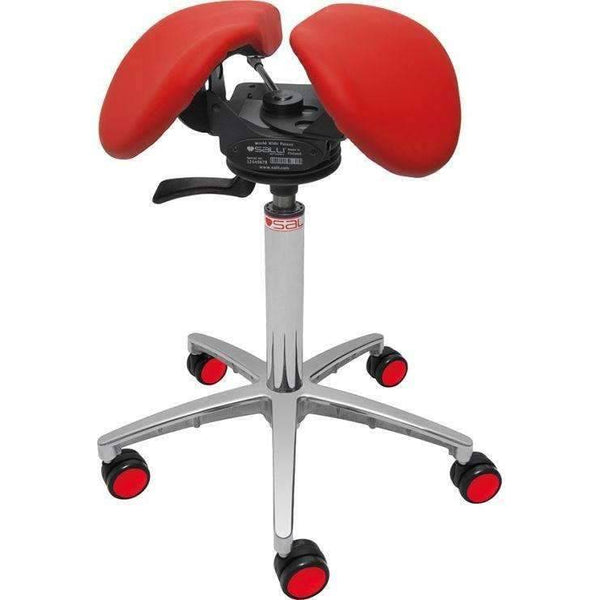 Salli SwingFit Ergonomic Saddle Chair or Stool | SitHealthier.com