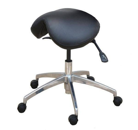 Premium Quality Saddle Chair with  Fully Adjustable Ergonomic Backrest