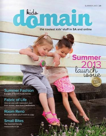 KIDS DOMAIN MAGAZINE - AUSTRALIA