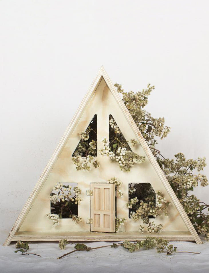 A-Frame Dolls House + Furniture - (Returning in 2019)