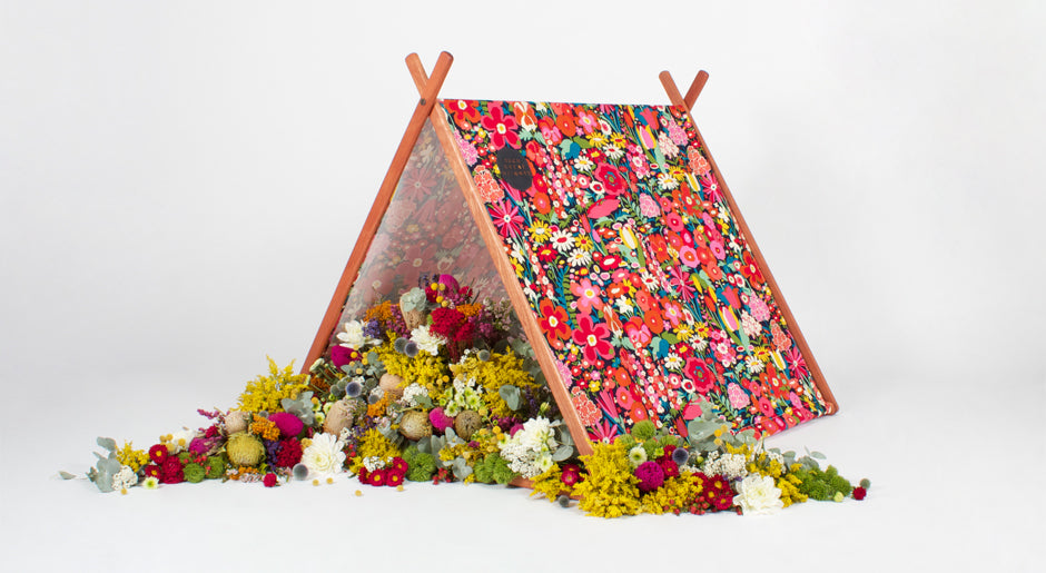 Such Great Heights - Floral Bomb Tent