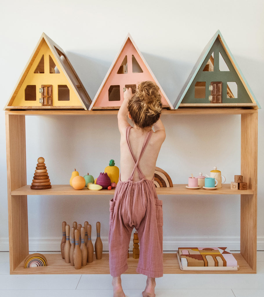 Such Great Heights - A-Frame Dolls House