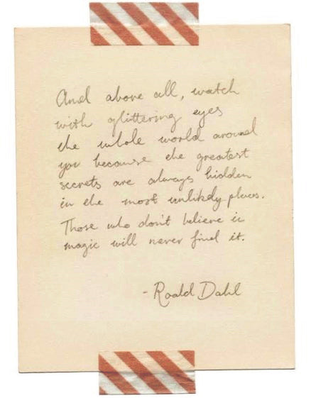 Such Great Heights - Roald Dahl
