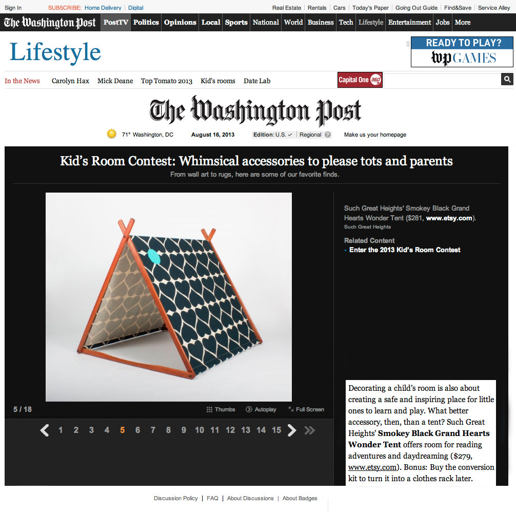 Such Great Heights - The Washington Post