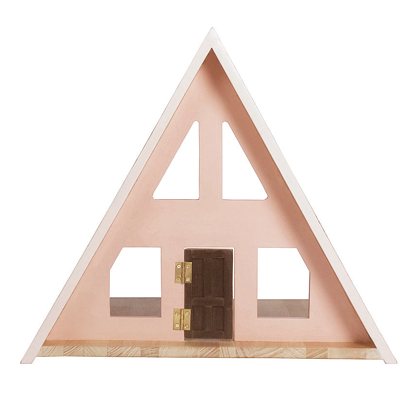 A-Frame Dolls House - Peach