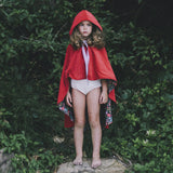 Red Wildflowers 'Adventure Cape' - Reversible