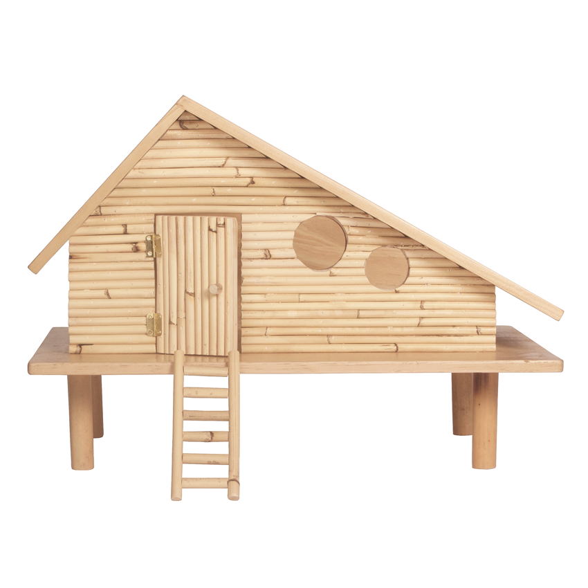 Surf Shack Dolls House + Free Furniture Set